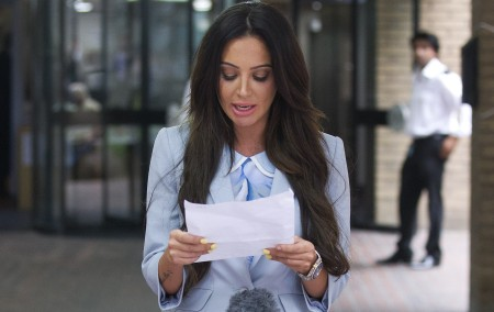 """TULISA CONTOSTAVLOS THE SINGER""""S trial collapsed in July after the judge found that mazher Mahmood had lied under oath.  Photo: PA                                                              THE SINGER walked free after Sun on Sunday undercover reporter Mazher Mahmood was caught lying in the witness box ...    Photo: PA"""