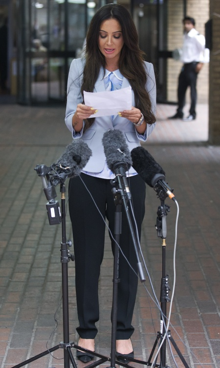 TULISA CONTOSTAVLOS The singer called Mazher Mahmood a liar as the case against her was sensationally dropped. Photo: PA