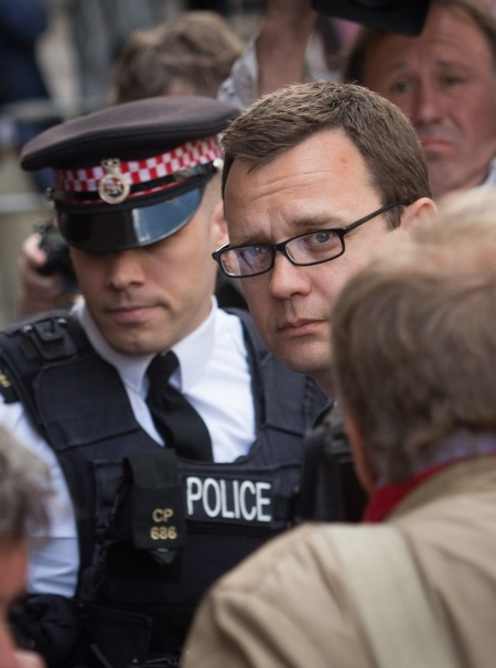 "A CRIMINAL AT NO 10 ANDY COULSON was David Cameron's communications boss from 2007 until 2011. Critics warned Cameron's team there were indications Coulson might be involved in the phone hacking scandal. Cameron, who denied ever hearing the warninss, described Coulson as a ""friend"". Photo: PA"