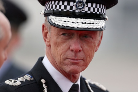 POLICE CHIEF  MET COMMISSIONER Bernard Hogan-Howe force has had more than three months to arrest Mazher Mahmood on suspicion  of committing perjury ...  Photo: PA Commissioner,  after The President of Ireland, Michael D Higgins, accompanied by his wife Sabina Higgins arrive at London Heathrow Airport.  During the visit they will stay at Windsor Castle.
