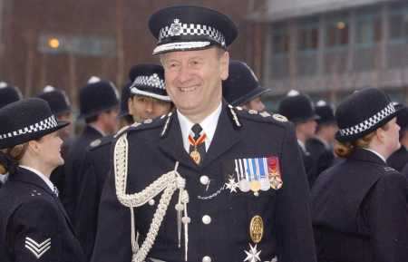 SIR JOHN STEVENS THE FAKE SHEIK enjoyed exceptionally good relations with Scotland Yard. In 2003 he and then News of the World editor Andy Coulson were invited to the Commissioner's offices at New Photo: PA OF the Metropolitan Police invited Mazher Mahmood and Andy Coulson to his office in Scotland Yard following the CPS decision to abandon charges in the Beckham kidnap affair Photo: PA