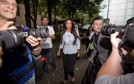 TULISA  THE SINGER'S case was the straw that broke the camel's back. After decades of tolerance from the Crown Prosecution Service and the judiciary, the judge in the case suddenly saw Mahmood in his true light ... Photo: PA
