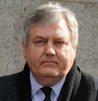 JONATHAN REES THE CONTROVERSIAL private eye was an important cog in the Daily Mirror's illegal news-gathering operation. Rees had been a suspect in the 1987 murder of his partner Daniel Morgan and was convicted of conspiracy to plant cocaine on an innocent woman. He was given a seven year prison sentence.   Photo: PA
