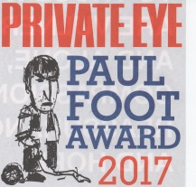 PAUL FOOT AWARD